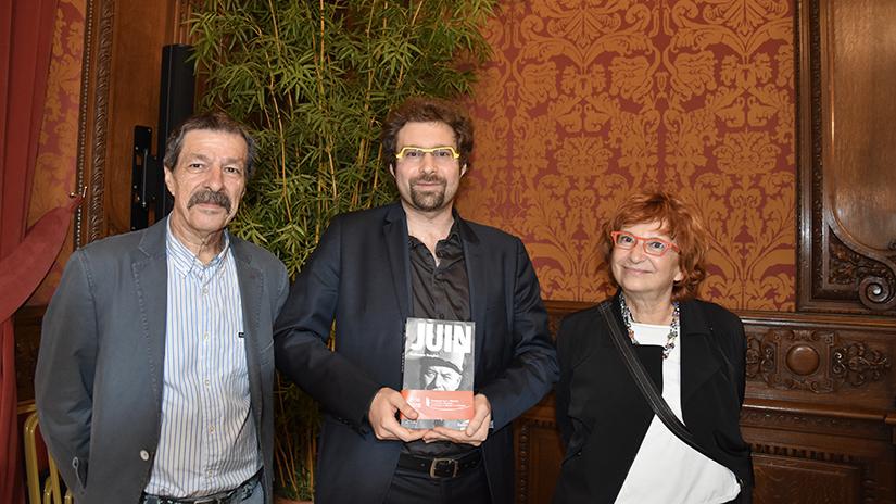 M. Guillaume Denglos et ses parents. ©EC/FM-GACMT