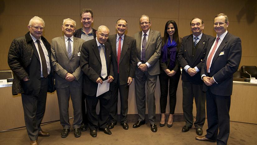 L'équipe 2012 de la Fondation.