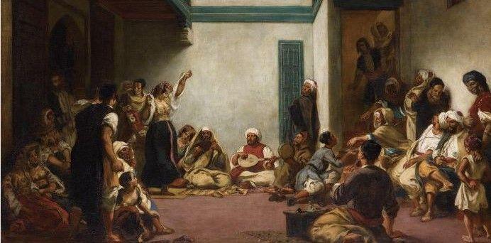 Tableau : Noces juives au Maroc