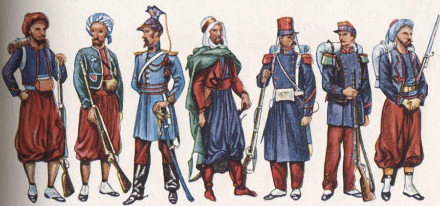 1830-1914 : Armée d'Afrique et troupes coloniales, deux entités au service de l'empire