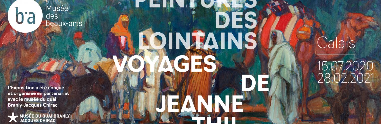 Exposition : Peintures des lointains voyages de Jeanne Thil