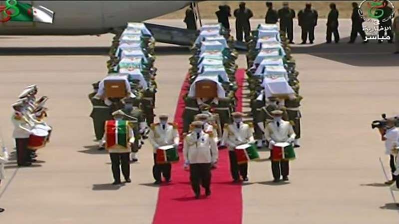 Mémoire : La France a restitué le 3 juillet les restes de 24 combattants arabes à la conquête au XIXe siècle