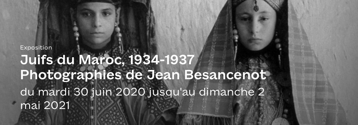 Exposition : Juifs du Maroc, 1934-1937 Photographies de Jean Besancenot
